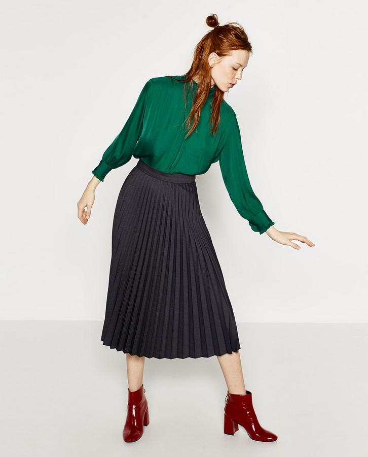0036f70e90e Плиссированная юбка. Купить модный тренд в российских магазинах