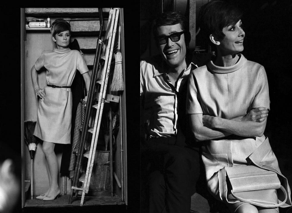 8a0ba645e1b ... Платье в стиле 60-х Одри Хепбёрн фильм Как украсть миллион