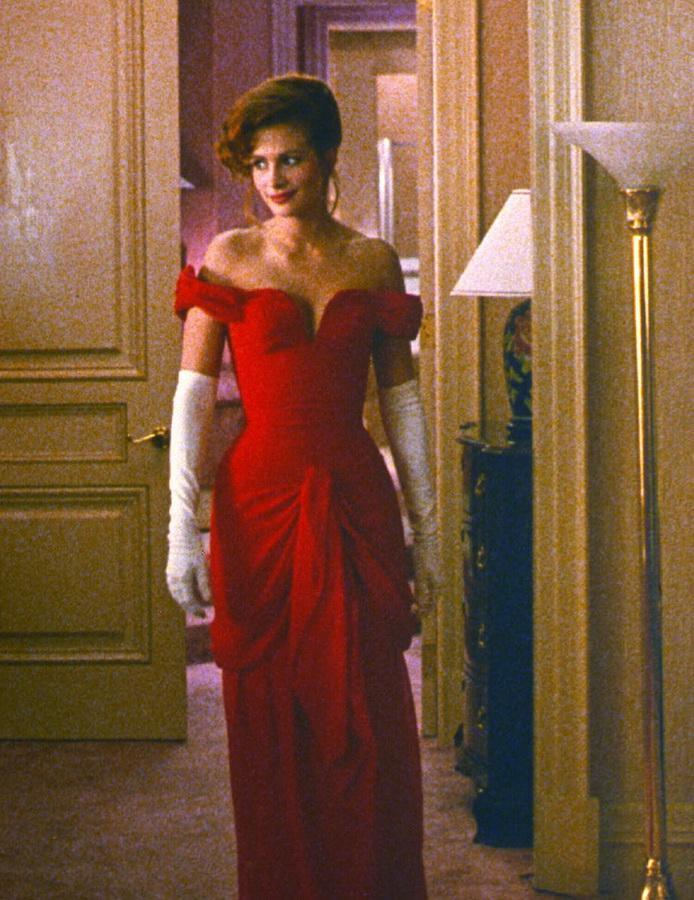 a95b2e6aa9f ... Ддинное красное платье Джулии Робертс фильм Красотка