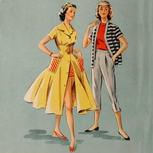 Картинки по запросу Журнал мод 1950-х