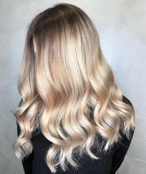 Окрашивание волос в технике бебилайтс