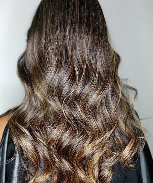 Окрашивание волос мажимеш