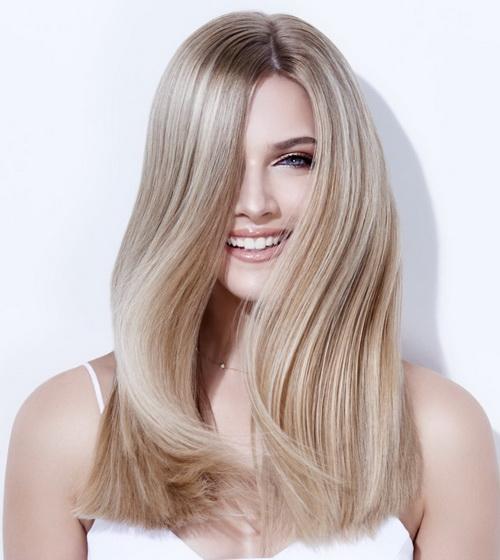 Окрашивание волос флэш