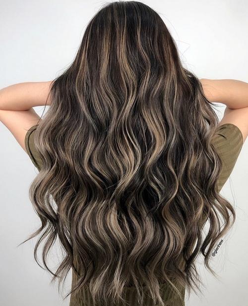Окрашивание волос фламбояж