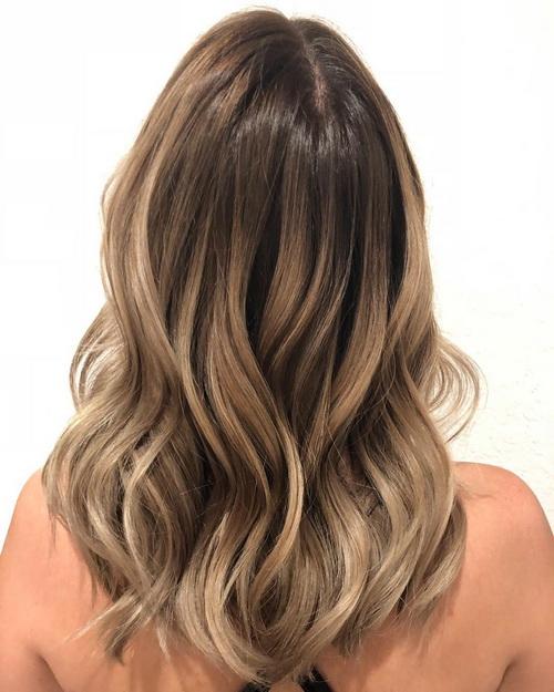 Окрашивание волос Melting Highlights