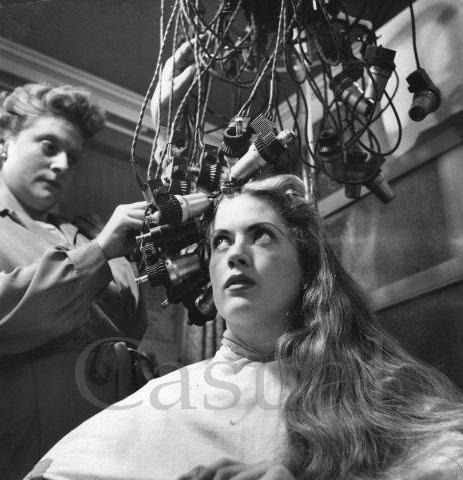 История химической завивки волос