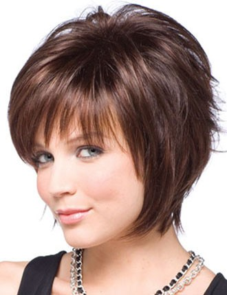Related Picture For hairstyles for round face shapes 2012 short hairstyles for round faces.