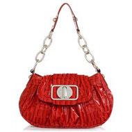 сумка женская GUESS CN20306, кожа, красная, среднего размера...