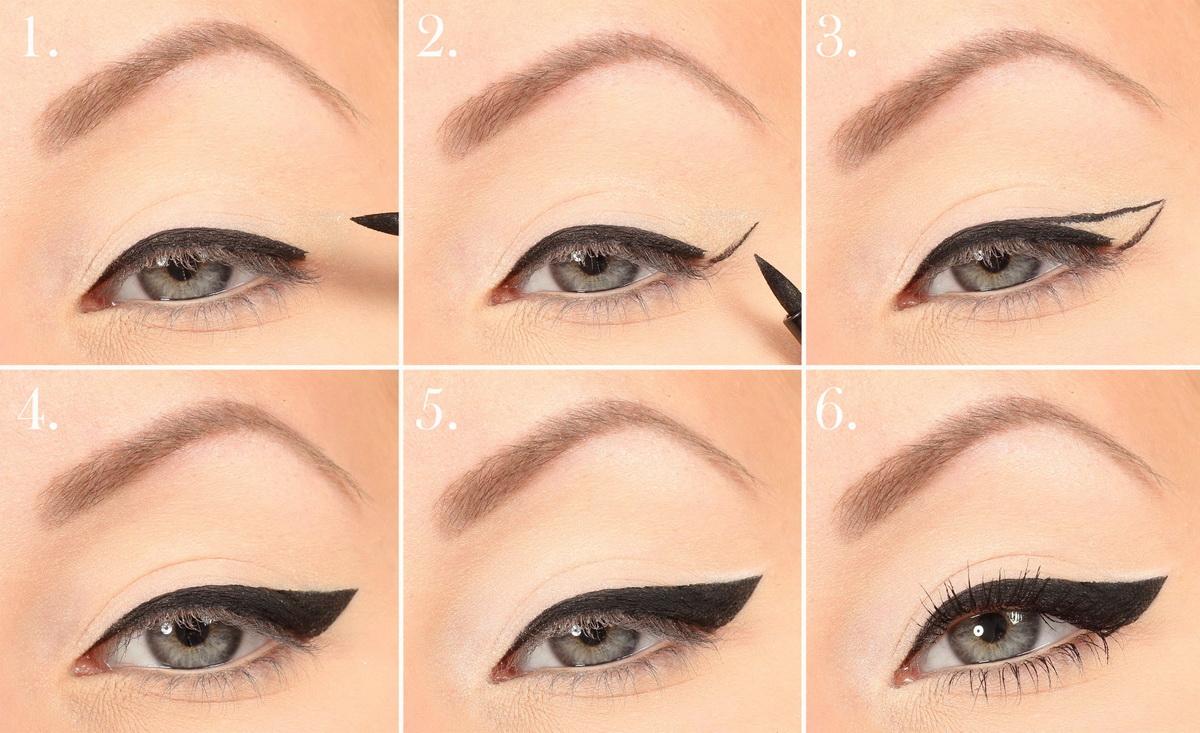 Как сделать глаза больше с помощью стрелок фото 51