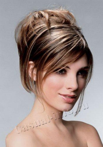 Для волос средней длины причёски для