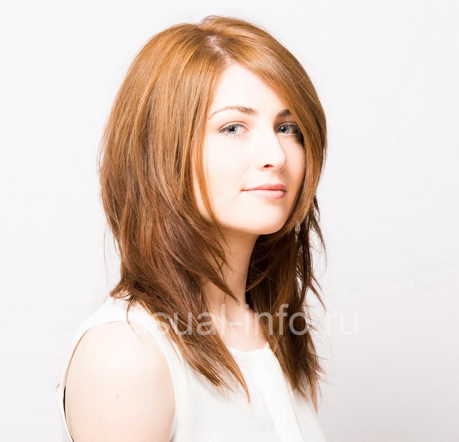 причёска каскад фото на длинные волосы