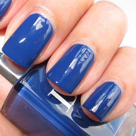Синие лаки для ногтей фото