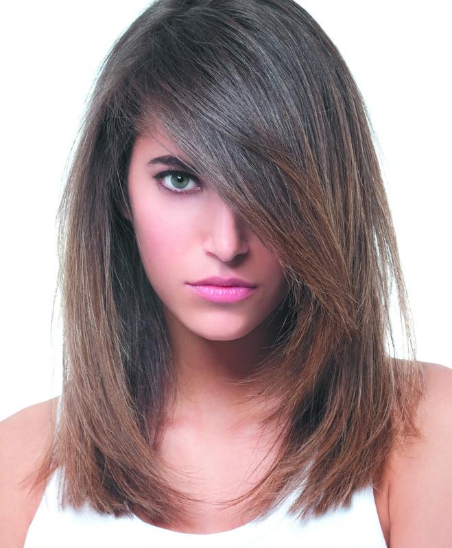 Фото стрижка женская волосы ниже плеч