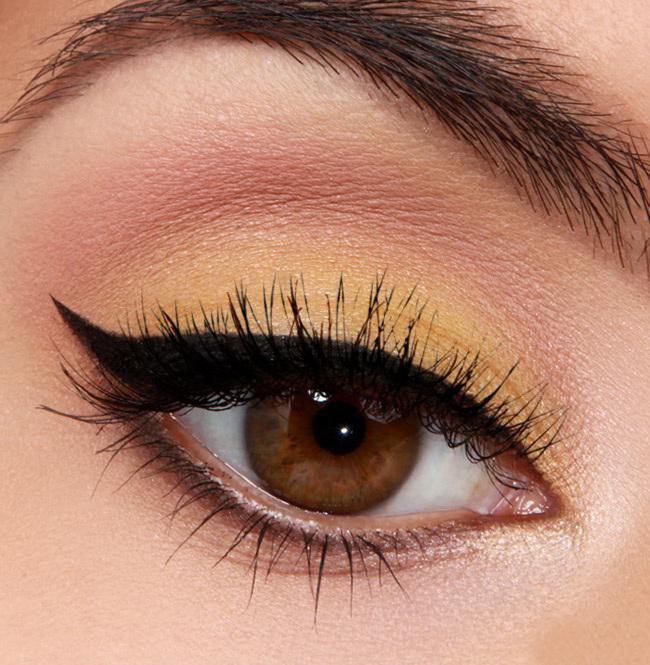 макияж глаз только тушью фото