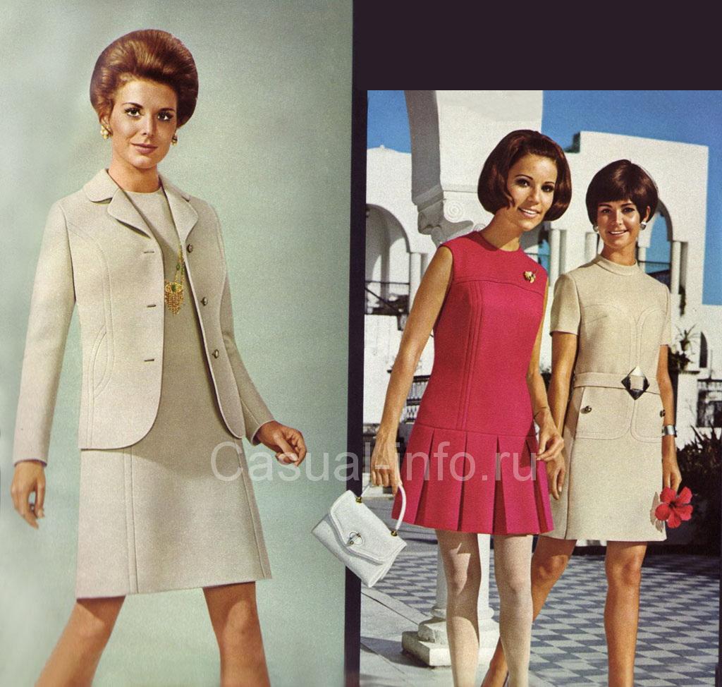 Мода 60 70 фото платьев