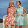 Модные платья из синтетических тканей, 1970 год
