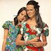 Модные платья из синтетических тканей, 1971 год