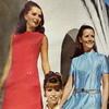 Модные платья и костюмы из синтетических тканей, 1970 год