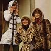 Мода 1970-х. Синтетические шубки, 1974 год