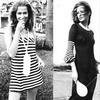 Мода 1970-х. Сочетание мини и макси, журнал Vogue, Париж, 1970 год