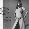 Шер в модной юбке на пуговицах, Vogue, США, 1970 год