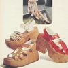 Мода 1970-х. Обувь на платформе