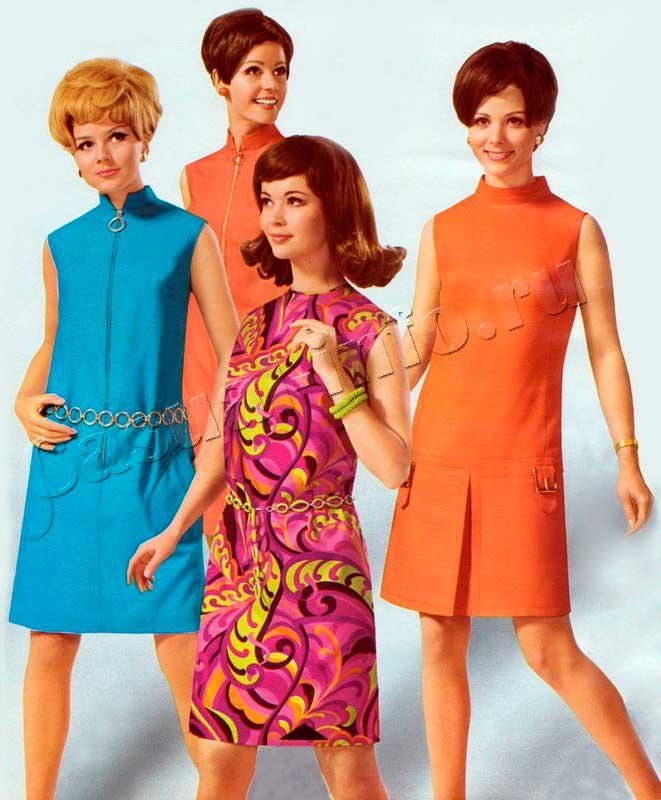 Мода 60х платье фото