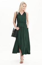 Темные оттенки зеленого в летнем гардеробе