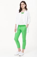Летний образ - сочетание зеленого цвета с белым