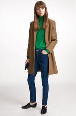 Зеленая осенне-зимняя палитра в сочетании с синем и коричневым