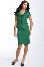 Зеленый цвет в деловом гардеробе