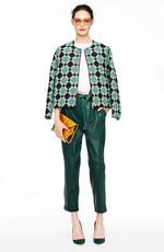 Зеленые цвета осеннего делового гардероба