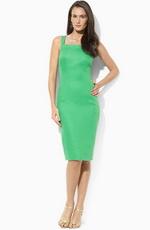 Зеленый цвет в вечерней моде