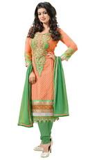 Зеленый цвет в национальном костюме Индии