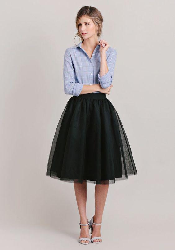 Пышные юбки 10