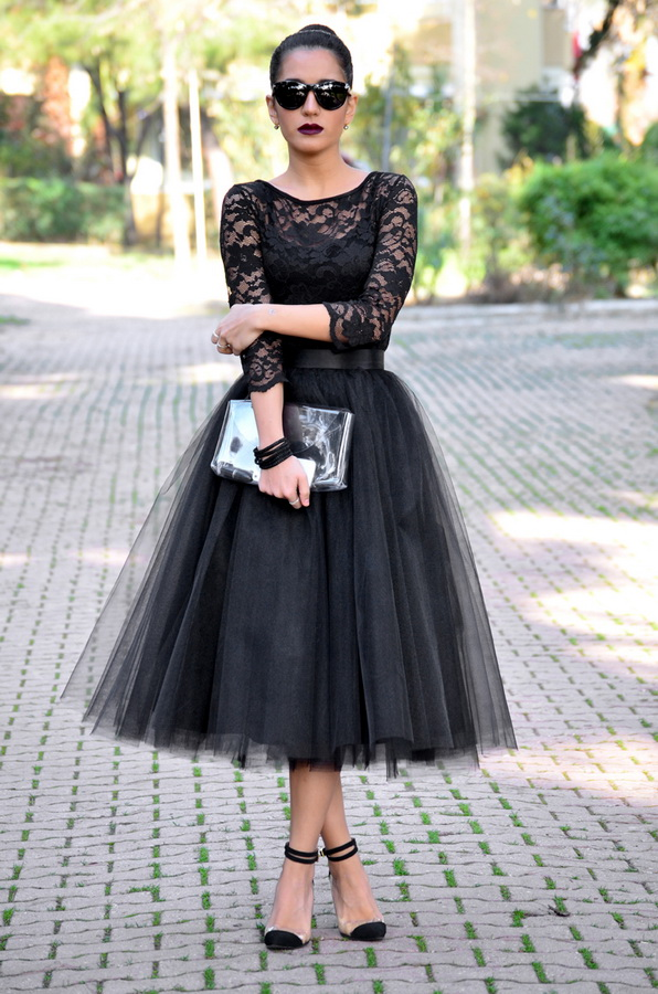 фото юбки из сетки