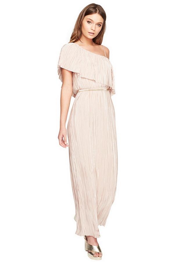 Сшить летнее платье с открытым плечом фото 687