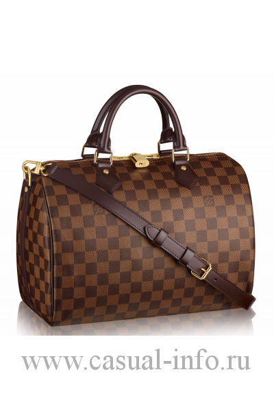 Louis Vuitton сумка Speedy bag, ткань Damierl