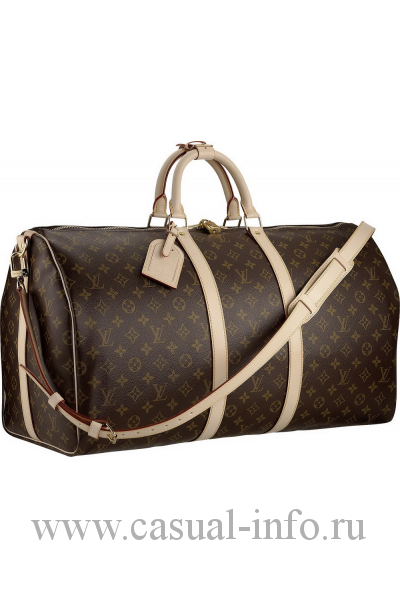 Louis Vuitton саквояж keepal, ткань Monogram Canvas