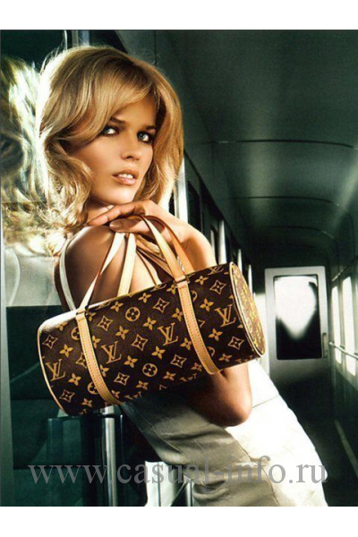 Реклама сумки Papillon Louis Vuitton, 1966 год