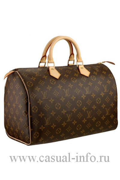 Louis Vuitton сумка Speedy bag, ткань Monogram Canvas