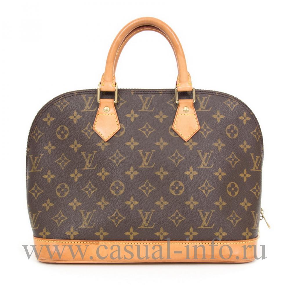 ... Сумка Louis Vuitton Alma, первая половина XX в 153680b4ba3
